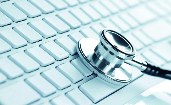 Es ist Dank moderner Technologie Telemedizinische Dienste mit Krankenhausportal