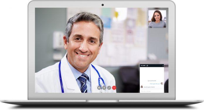 Telemedizinische Gesundheitsstadt in medizinisches Portal
