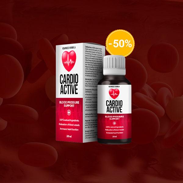 CardioActive – für Bluthochdruck - Nebenwirkungen – bestellen – comments