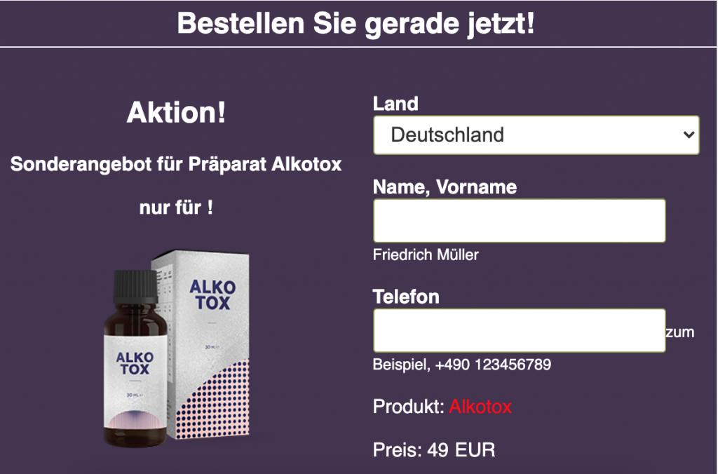 alkotox-beförderung