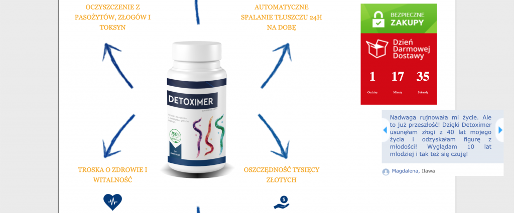 detoximer-beförderung