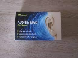 Audisin Maxi Ear Sound - bewertungen - anwendung - inhaltsstoffe - erfahrungsberichte